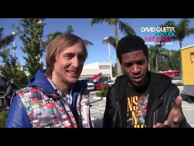 David Guetta feat Kid Cudi - Memories - Behind The Scenes