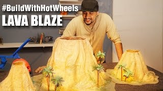 #BuildWithHotWheels - Lava Blaze | Hot Wheels | Mad Stuff With Rob