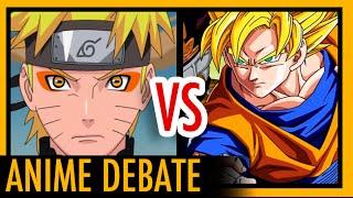 Dragon Ball Z vs Naruto Shippuden - Which Is Better? || Anime Debate