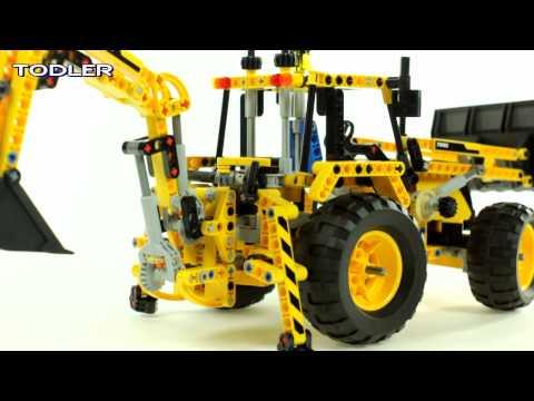 Lego Technic 8069 Backhoe Loader REVIEW