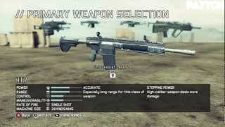 Ghost Recon Future Soldier Gunsmith