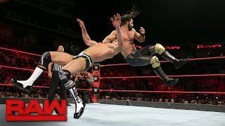 Dean Ambrose & Seth Rollins vs Sheamus & Cesaro vs Luke Gallows & Karl Anderson: Raw, Sept. 18, 2017