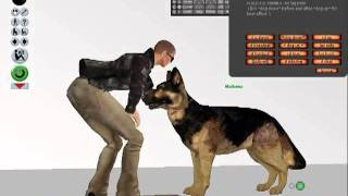 German Shepherd Realistic Second Life Pets