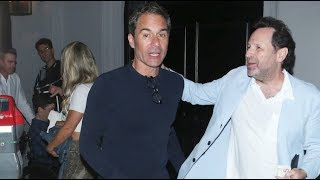 Will & Grace Star Eric McCormack Grabs Dinner With A Pal In WeHo