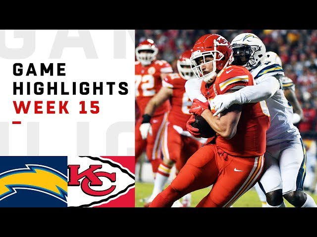 Chargers vs. Chiefs Week 15 Highlights  NFL 2018