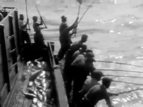 Tuna Fishing From The Racks - Tribute To Tuna - Old School Fishing