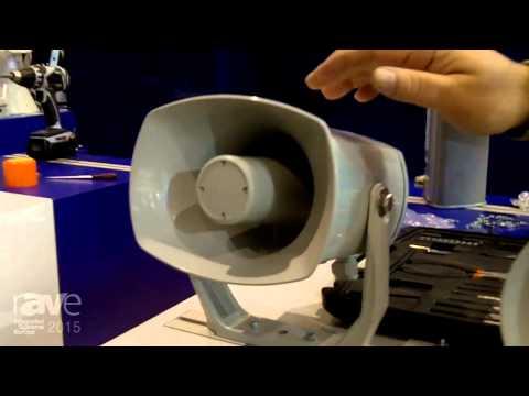ISE 2015: DNH Loudspeakers Previews New EN 54 Products and Tunnel Loudspeaker