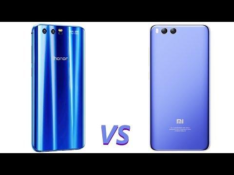 Xiaomi Mi6 VS Huawei Honor 9
