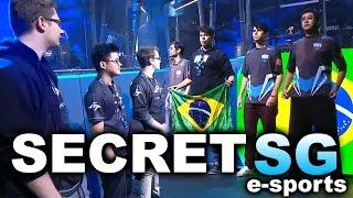 SECRET vs SG e-sports (Brazil) - MOST AMAZING GAMES! - KIEV MAJOR DOTA 2