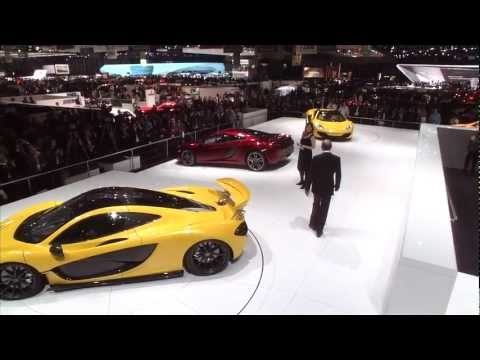The McLarenP1™ unveil in Geneva