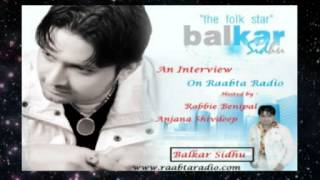Desi Munde - Balkar sidhu ( desi mundy ) An interview on raabta radio with Robbie Benipal And Anjana Shivdeep.mpg