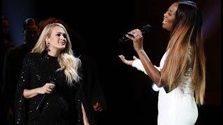 Carrie Underwood Yolanda Adams Sing 34 You Ll Never Walk Alone 34 By Elvis Presley
