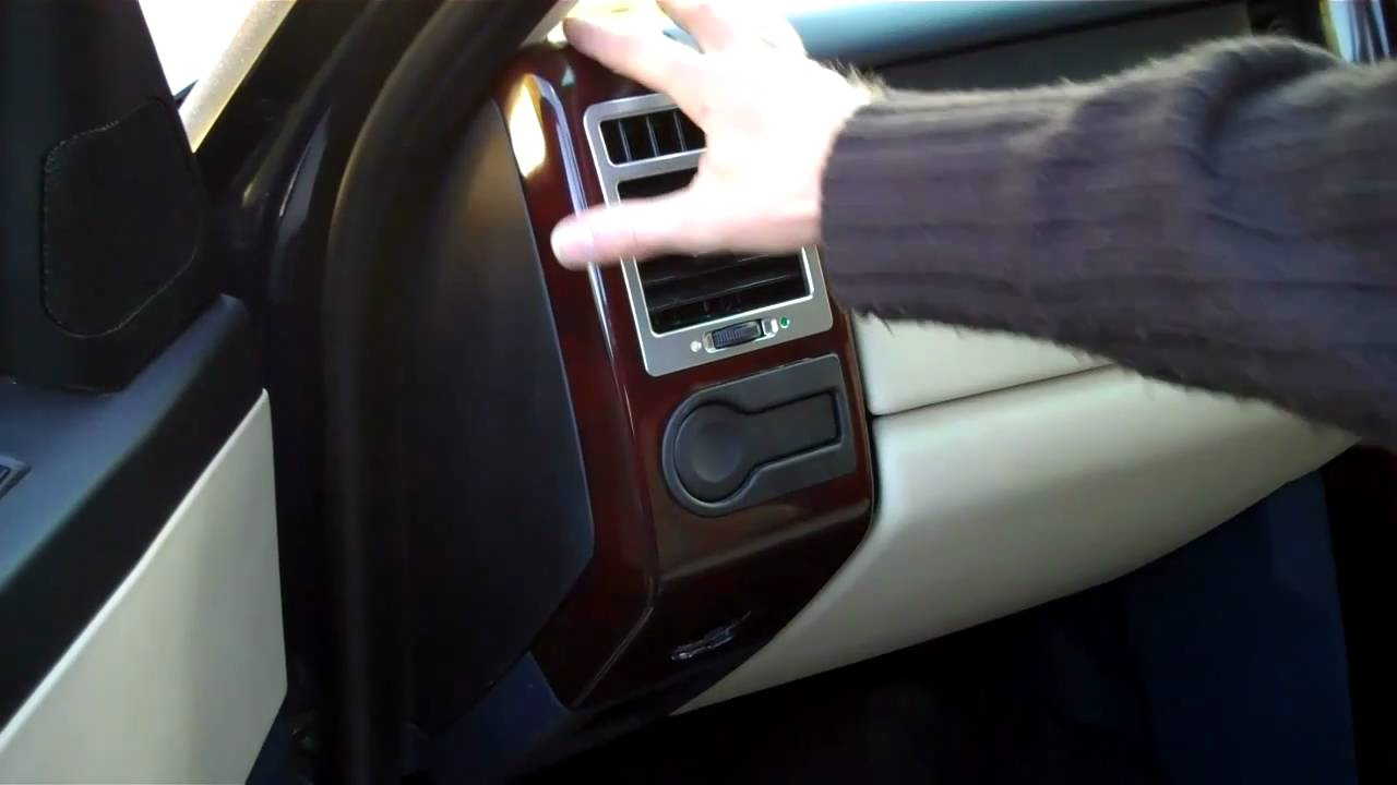 How To Remove The Dash End Panel On A Range Rover Vogue