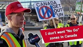 Yellow Vest Canadians Demand Less Immigration
