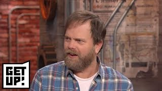 Rainn Wilson vets Ryen Russillo's 'The Office' Pam conspiracy theory | Get Up! | ESPN