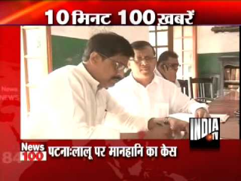 News 100 -21st May 2013, 8.30 AM