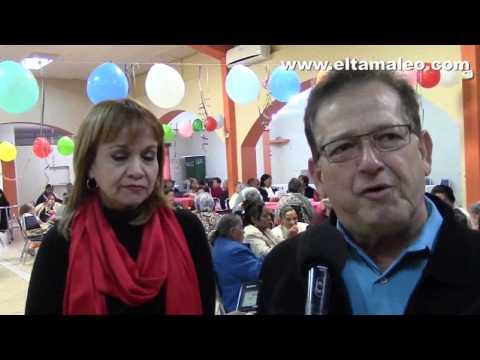 CONVIVEN ROBERTO Y CUQUIS EN POSADA DELOS ABUELITOS DE CD MIER