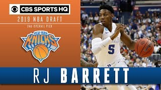 RJ Barrett is going to be the Rookie of the Year next season | 2019 NBA Draft | CBS Sports HQ