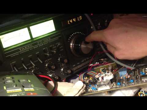 VFO freewheeling on the Yaesu FT One