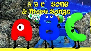 ABC Alphabet Song & More Songs | Kids Songs | Nursery Rhymes | Baby Songs | Children Songs