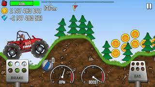 Máy xúc, máy ủi, xe cẩu, xe tải - Hill Climb Racing