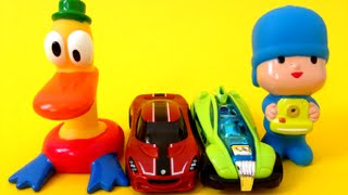 Pocoyo And Hot Wheels Surprise Cars Surprises