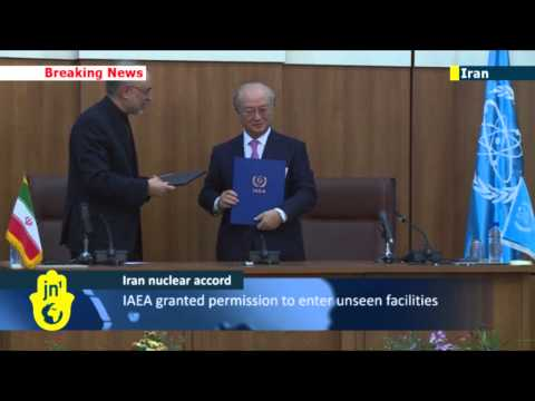 UN-Iran Nuclear Agreement: Tehran signs deal to allow IAEA inspectors into two key nuclear sites