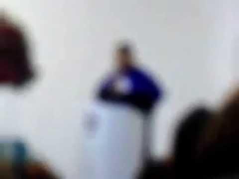 Discurso de Orador da turma de Psicologia 2014.1 UFPB