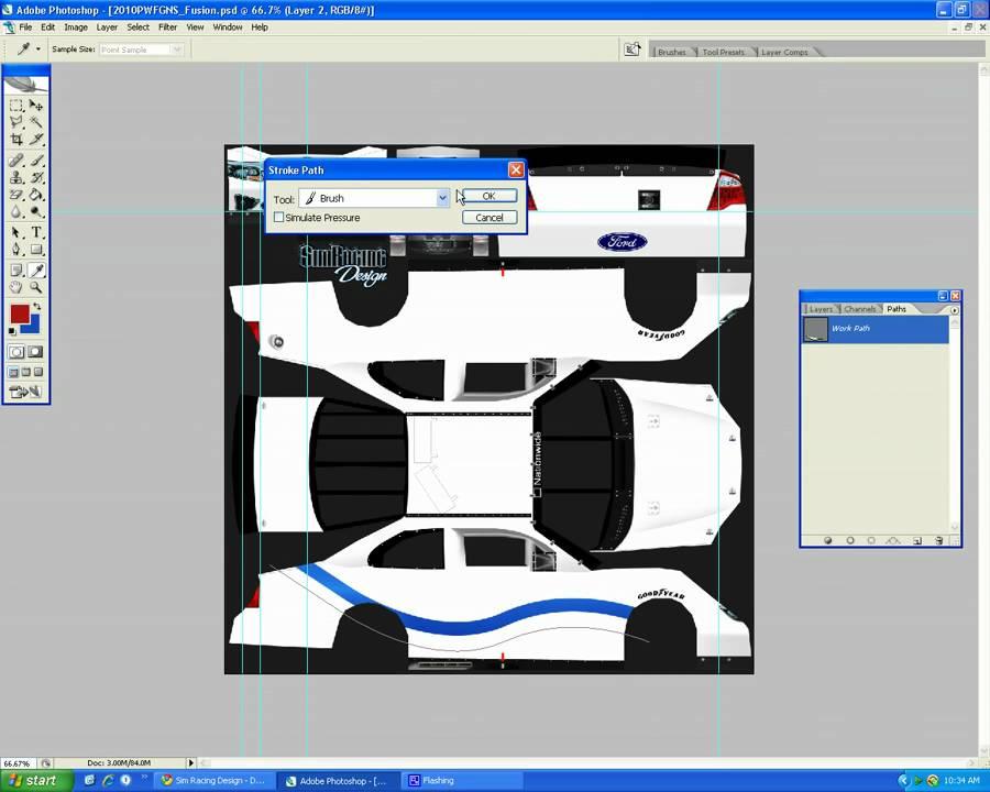 nr2003 car templates nr2003 car painting tips pt 1