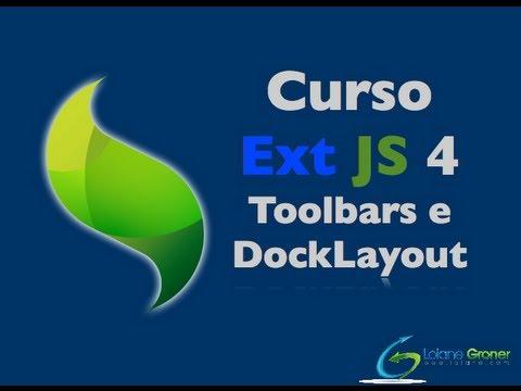 Curso Gratuito ExtJS 4 - Aula 30: Toolbars e DockedItems