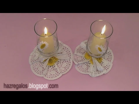 Centro de Mesa con Copa - DIY - Glass Centerpiece