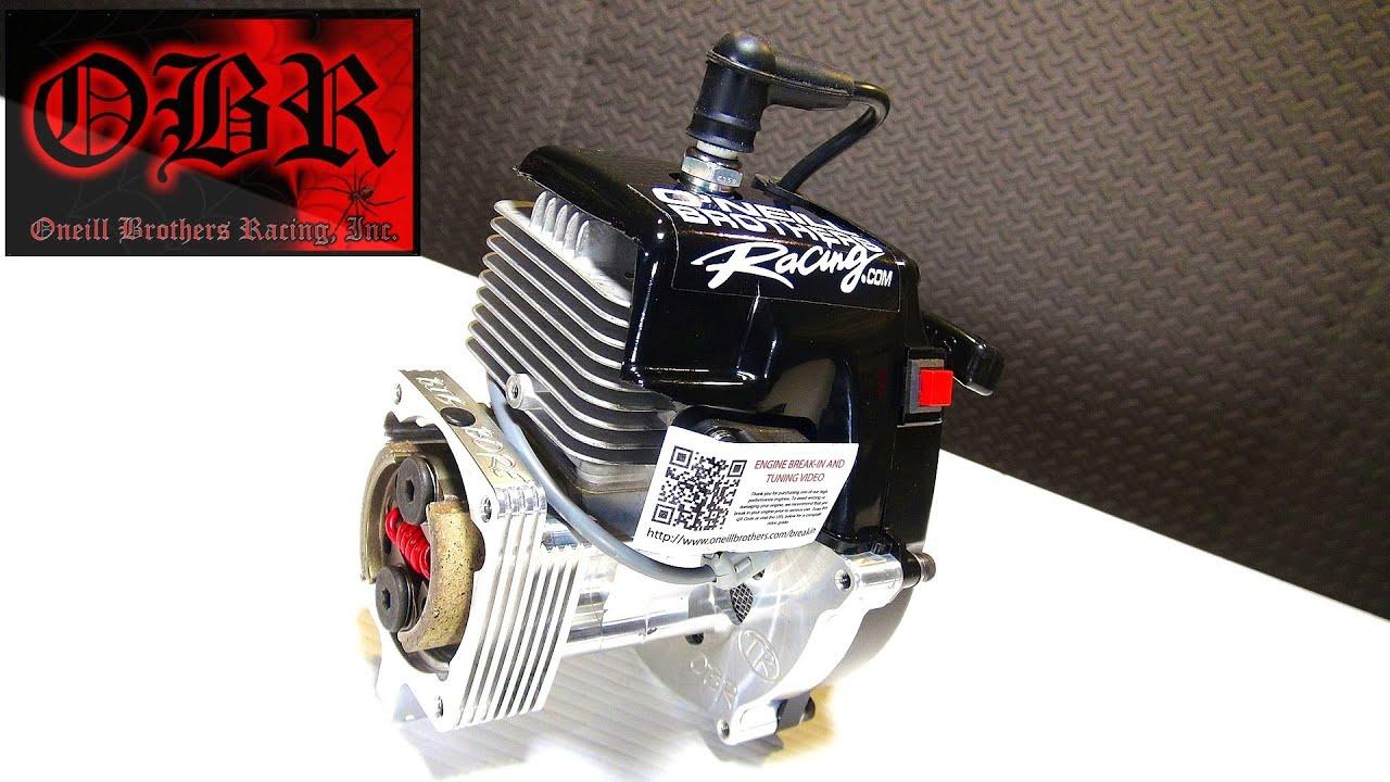 Rc Adventures - Obr 9 7hp Full Mod 38cc Widowmaker Gas Engine