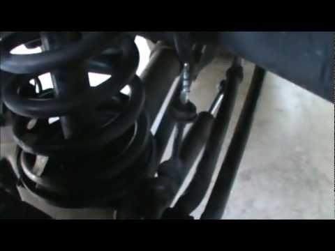 2008 Dodge Ram 2500 Anti-sway bar drop brackets kit install