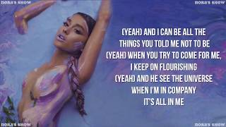 Download Lagu Ariana Grande - God is a woman (Lyric Video) Gratis STAFABAND