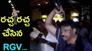 RGV Hungama At iSmart Celebrations || Puri Jagannadh , Ram Gopal Varma |