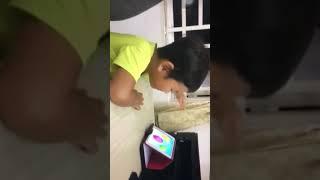 Bé 3 tuổi học tiếng anh siêu dễ thương