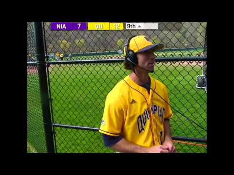 QU Baseball Post-Game Comments vs. Niagara (May 3, 2015)