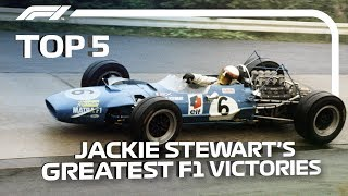 Top 5 | Jackie Stewart's Greatest F1 Victories