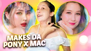 Testei as novas makes da PONY x MAC