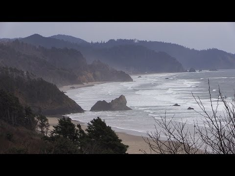 Drive Up the Pacific Coast Highway in Oregon - Shot w/Canon G30