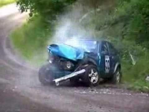 Gros Crash Rallye Compilation Accidentes de rallye