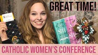 My Experience & Catholic Gifts! | Columbus Catholic Women's Conference