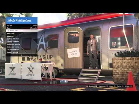 GTAV TEST Le Mode Réalisateur (Éditeur Rockstar PS4)