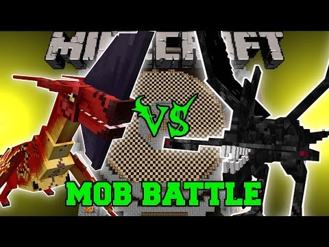 LEONOPTERYX VS NIGHTMARE - Minecraft Mob Battles - OreSpawn & Mutant Creatures Mods
