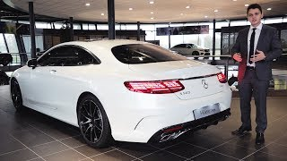 2019 Mercedes S560 Coupe - FULL Review S Class AMG Interior Exterior