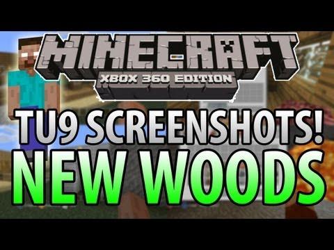 Minecraft (Xbox 360) : TU9 Update! - NEW WOODS SCREENSHOTS + More Features!