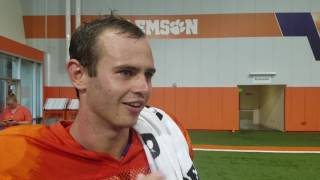 TigerNet: Hunter Renfrow after practice - 8/9/2017