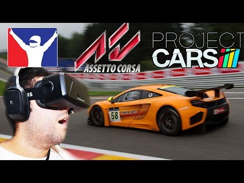 Oculus Rift DK2 REVIEW - Project CARS vs Assetto Corsa vs Iracing