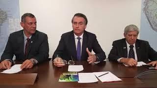 07.03.19 - LIVE PRESIDENTE BOLSONARO: TEMAS ATUAIS