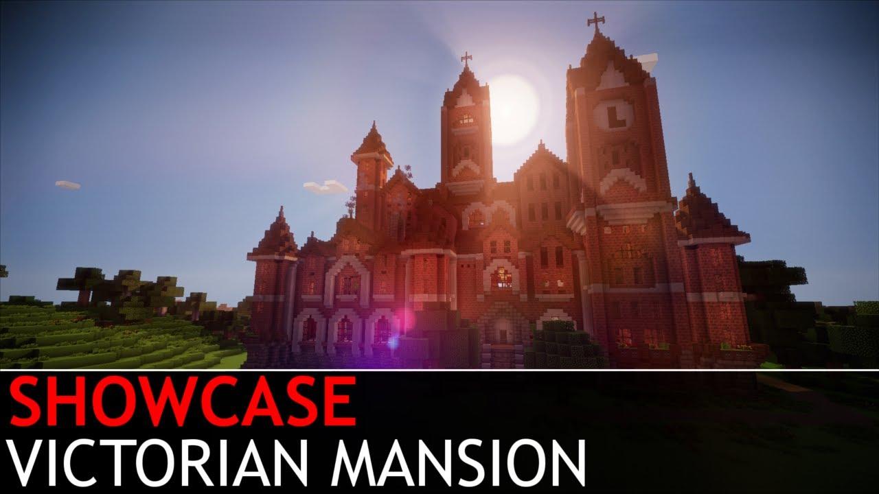 Minecraft Victorian Mansion